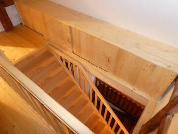 Escalier sur mesure à Luttenbach