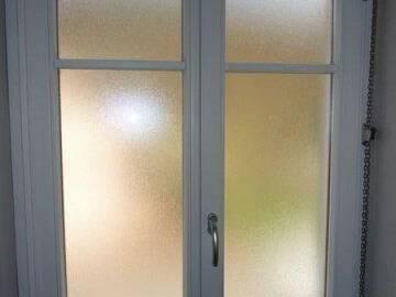 Fenêtre bois cintrée sur mesure à Munster