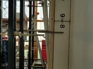 Teste de résistance sur fenêtre bois 78