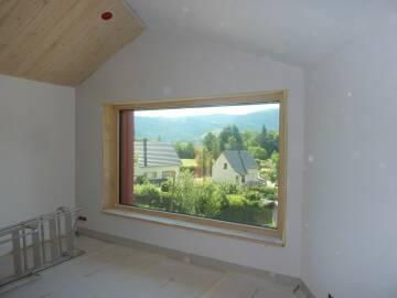Fenêtre LUMINERGIE sur mesure à ouvrant caché à Muhlbach-sur-Munster