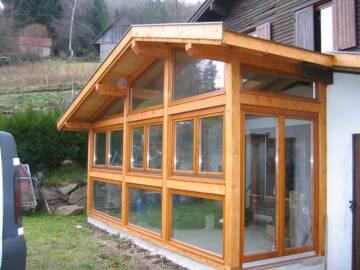 Fenêtres bois sur mesure à Soultzeren.