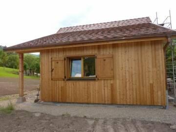 Fenêtres bois sur mesure et volet bois à Kaysersberg