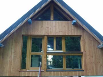 Fenêtres bois avec porte d'entrée sur mesure à Griesbach-au-Val