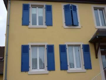 Fenêtres bois sur mesure à Ingersheim.