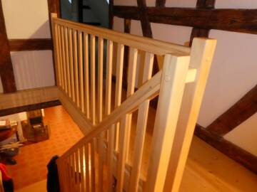 Garde-corps escalier sur-mesure à Luttenbach