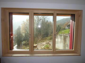 Fenêtre sur mesure LUMINERGIE® à ouvrant caché à Muhlbach-sur-Munster